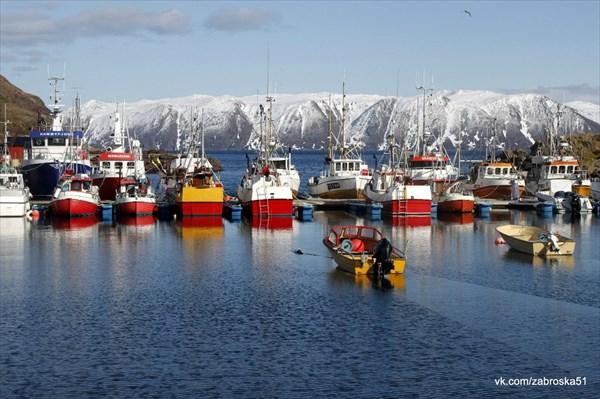 Эталонная норвежская промысловая деревня!